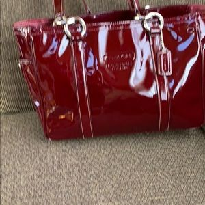Coach bag Reflective shoulder bag